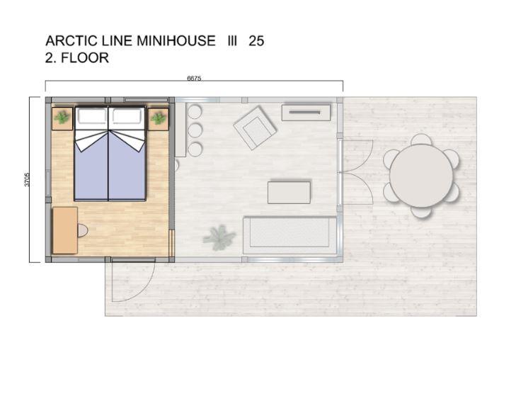 arctic line minitalo 25